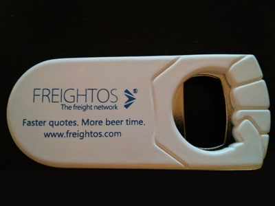 Picture of bottle openers for trade show