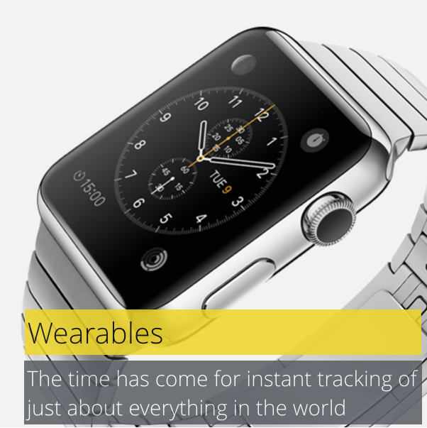 Wearables - better tracking