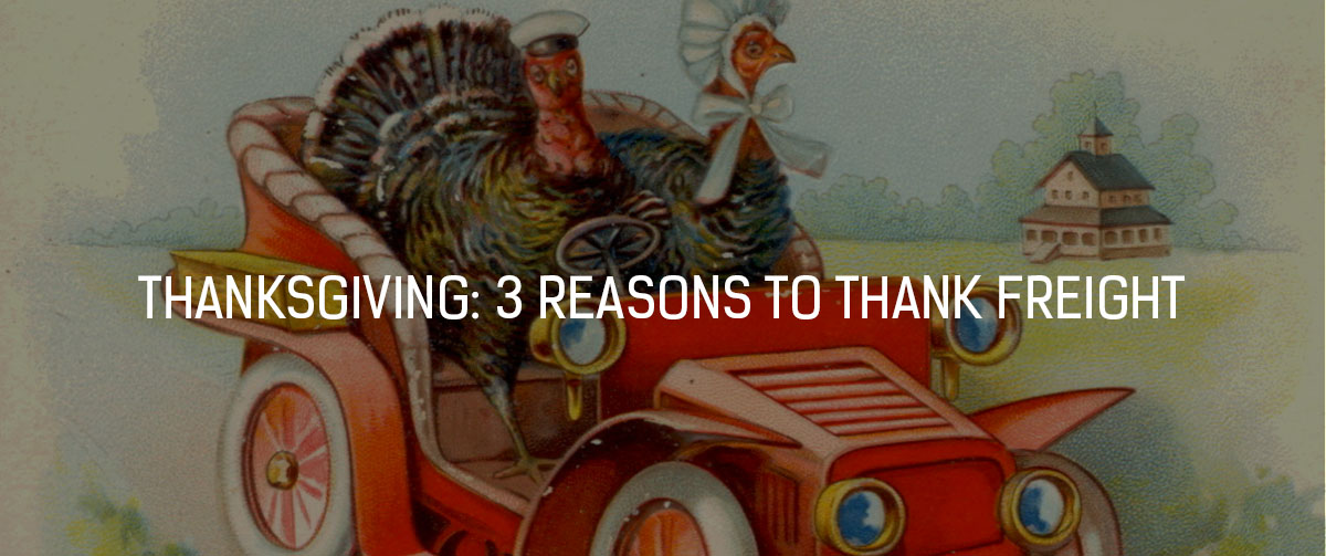 3 reasons to thank freight
