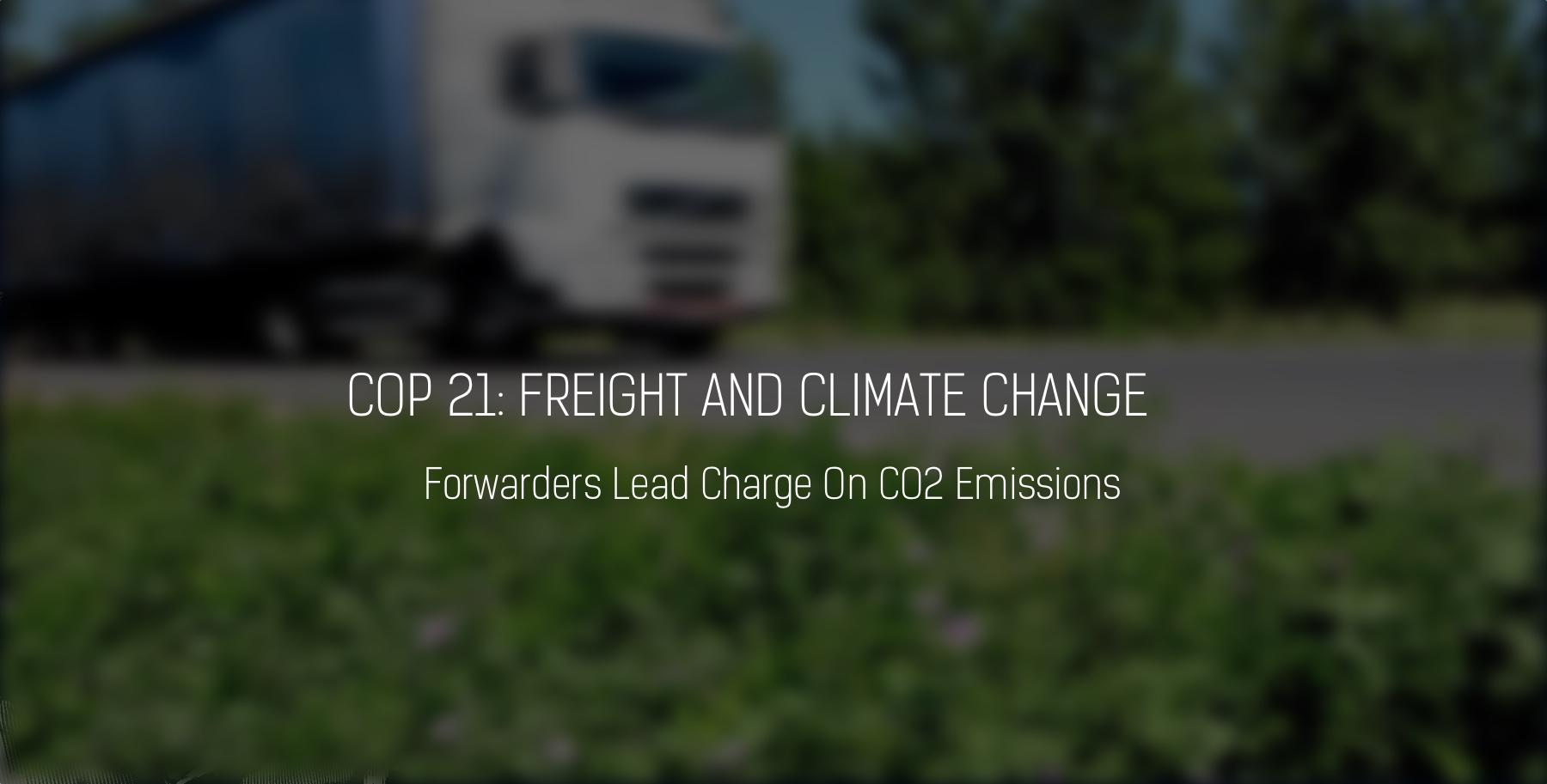 COP21 Climate Change Forwarding FINAL
