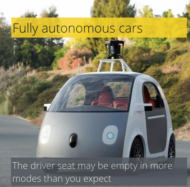 Autonomous cars - Google