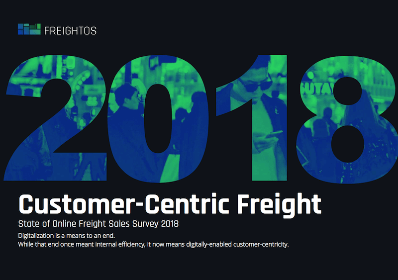 State of Online Freight Sales 2018: Customer-Centric Freight | Freightos
