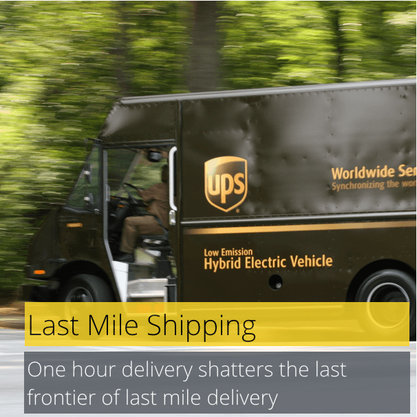 changes to last mile shipping