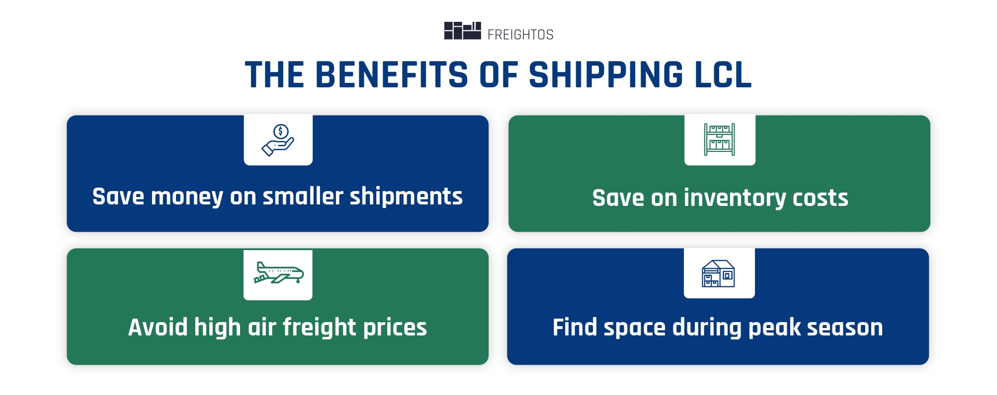 benefits of shipping lcl